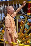 Hare Krishna Festival of the Chariots at the Venice Beach Boardwalk circa 1980s.