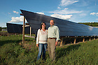 Energy cost savings will help Richard and Shirley Ball keep their farm in the family.