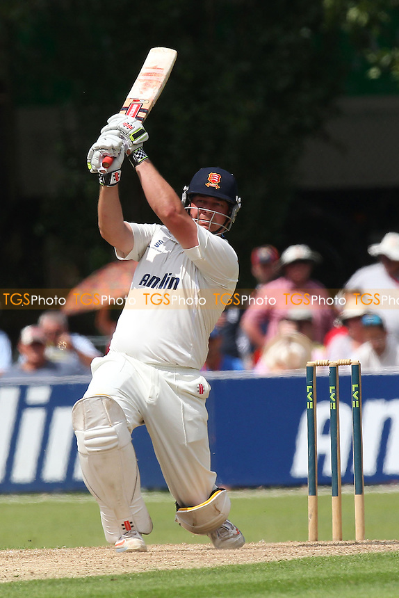 Jesse Ryder hits out for Essex - Essex CCC vs Hampshire CCC - LV County Championship Division Two Cricket at Castle Park, Colchester, Essex - 15/07/14 - MANDATORY CREDIT: Gavin Ellis/TGSPHOTO - Self billing applies where appropriate - contact@tgsphoto.co.uk - NO UNPAID USE