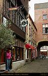 Lingerie Sonia and Muntpoort, Muntplein, Bruges, Brugge, Belgium
