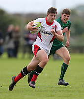Saturday 8th September 2018 | Ulster U19s vs Connacht U19s<br /> <br /> Ben Power during the U19 Inter-Pro between Ulster and Connacht at Bangor Grammar School, Bangor, County Down, Northern Ireland. Photo by John Dickson / DICKSONDIGITAL