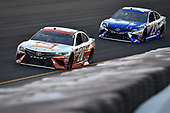 Monster Energy NASCAR Cup Series<br /> Quaker State 400<br /> Kentucky Speedway, Sparta, KY USA<br /> Saturday 8 July 2017<br /> Matt Kenseth, Joe Gibbs Racing, Circle K Toyota Camry, Joey Gase, BK Racing, Best Home Furnishings Toyota Camry<br /> World Copyright: Logan Whitton<br /> LAT Images