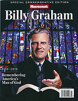 2018-Newsweek Cover-Billy Graham (from 1963). Photo by John G. Zimmerman.