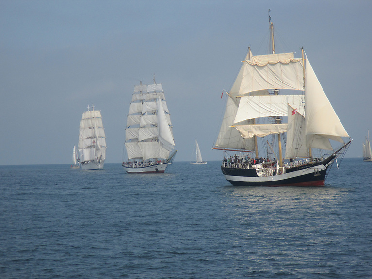 Tall ships - Over 400 young people will participate in 29 voyages in 2022