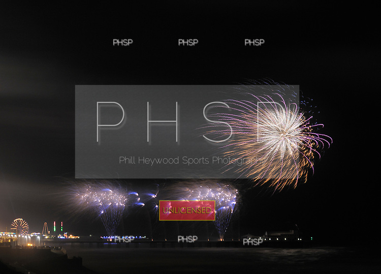02/10/2009  International Fireworks Championship, Blackpool, Lancashire, UK. Kimbolton Fireworks UK......© Phill Heywood.