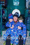 John , Carmel and Joseph Browne Ballinskelligs enjoying the Christmas in Killarney lights on Sunday
