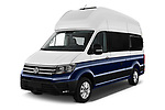 2020 Volkswagen Grand-California 600 4 Door Refrigerated Van Angular Front automotive stock photos of front three quarter view