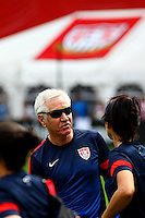 WASHINGTON D.C. - September 02, 2013:<br /> Coach Tom Sermanni During a USA WNT open practice at RFK Stadium, in Washington D.C. the day before the USA v Mexico international friendly match.