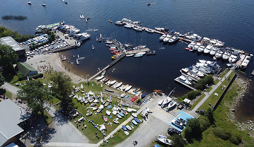 The Optimist Connaught Championships at Lough Ree Yacht Club