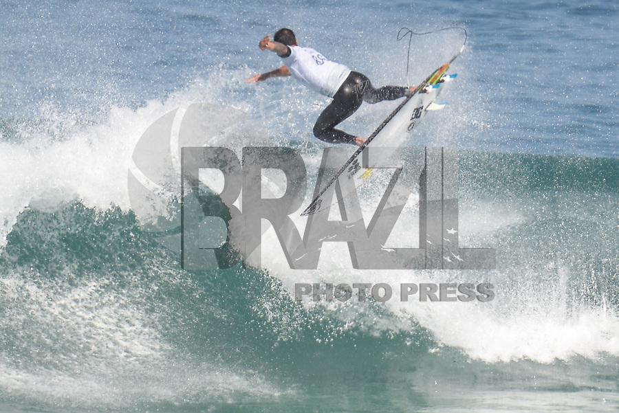 SAQUAREMA, RJ, 16.05.2018 - WSL-RJ - Ezekiel Law, no Oi Rio Pro etapa da WSL na Praia de Itaúna, Saquarema, Rio de Janeiro nesta quarta-feira, 16. (Foto: Clever Felix/Brazil Photo Press)