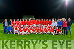 East Kerry team celebrate after winning the County Minor football final against St Brendans in Austin Stack Park on Wednesday evening