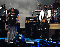 LOS ANGELES - JANUARY 24: Yola and Gary Clark Jr. perform on the 2020 MusiCares Person of the Year tribute concert honoring Aerosmith on January 24, 2020 in Los Angeles, California. (Photo by Frank Micelotta/PictureGroup)