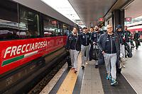 Settebello in viaggio per <br /> Milano per ritirare il premio <br /> Gazzetta Sports Awards<br /> Roma  18/12/2019 <br /> <br /> Photo Diego Montano Deepbluemedia /insidefoto