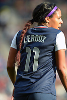 Glasgow, Scotland - July 25, 2012: Sydney Leroux during the US women's national soccer team's 4-2 victory over France.
