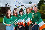 The family of David Kenny l-r:Sarah, Rebecca, Laura and parents Mary and Noel gathered at his home in Ballyhar on Friday morning to watch him compete in the Tokyo Olympics