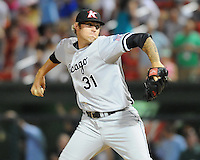 Pitcher Brandon Kloess (31) Kannapolis Intimidators at the 2010 South Atlantic League All-Star Game on Tuesday, June 22, 2010, at Fluor Field at the West End in Greenville, S.C. Photo by: Tom Priddy/Four Seam Images