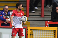 Ben Coker of Stevenage FC during Stevenage vs Exeter City, Sky Bet EFL League 2 Football at the Lamex Stadium on 9th October 2021