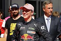 5th September 2021; Red Bull Ring, Spielberg, Austria; DTM Race 2 at Spielberg;  Liam Lawson NZ Red Bull AF Corse, Ferrari 488 GT3 Evo race 2 winner