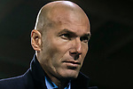Manager Zinedine Zidane of Real Madrid prior to the Copa del Rey 2017-18 match between CD Leganes and Real Madrid at Estadio Municipal Butarque on 18 January 2018 in Leganes, Spain. Photo by Diego Gonzalez / Power Sport Images