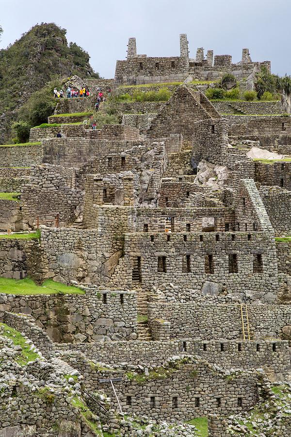 Peru, Machu Picchu, Western Urban Sector.