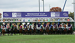 November 2, 2018:The start of the Juvenile Fillies Turf on Breeders' Cup World Championship Friday at Churchill Downs on November 2, 2018 in Louisville, Kentucky. Casey Phillips/Eclipse Sportswire/CSM