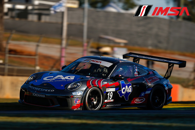 IMSA Porsche GT3 Cup Challenge USA<br /> Road Atlanta<br /> Road Atlanta, Braselton GA<br /> Thursday 5 October 2017<br /> 19, Will Hardeman, GT3P, USA, 2017 Porsche 991<br /> World Copyright: Jake Galstad<br /> LAT Images
