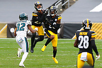 during a regular season game between the Pittsburgh Steelers and the Philadelphia Eagles, Sunday, Oct. 11, 2020 in Pittsburgh, PA. (\042011000151#1\ / Pittsburgh Steelers)