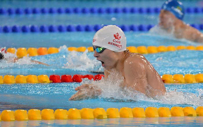Nicholas Bennett, Lima 2019 - Para Swimming // Paranatation.<br /> Nicholas Bennett competes in Para Swimming // Nicholas Bennett participe en paranatation. 25/08/19.