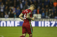 Alfie Mawson of Swansea City during the Carabao Cup Third Round match between Reading and Swansea City at Madejski Stadium, Reading, England, UK. Tuesday 19 September 2017