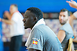 Ilimiane Diop at the end of the second season of training of Spanish National Team of Basketball 2019 . July 27, 2019. (ALTERPHOTOS/Francis González)