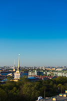 St Petersburg Skyline With Admiralty