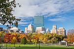 Autumn in Boston Common, Boston, Massachusetts, USA