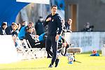 20.02.2021, xtgx, Fussball 3. Liga, FC Hansa Rostock - SV Waldhof Mannheim, v.l. Patrick Gloeckner (Mannheim, Trainer) <br /> <br /> (DFL/DFB REGULATIONS PROHIBIT ANY USE OF PHOTOGRAPHS as IMAGE SEQUENCES and/or QUASI-VIDEO)<br /> <br /> Foto © PIX-Sportfotos *** Foto ist honorarpflichtig! *** Auf Anfrage in hoeherer Qualitaet/Aufloesung. Belegexemplar erbeten. Veroeffentlichung ausschliesslich fuer journalistisch-publizistische Zwecke. For editorial use only.