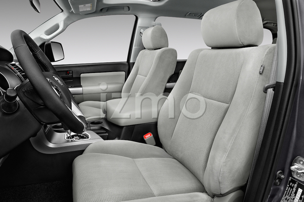 Front seat view of 2016 Toyota Sequoia 5.7-Auto-SR5 5 Door SUV Front Seat  car photos