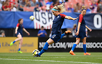 Cleveland, Ohio - Tuesday June 12, 2018: Julie Ertz during an international friendly match between the women's national teams of the United States (USA) and China PR (CHN) at FirstEnergy Stadium.