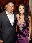 Humberto Quintero and his wife Michelle at the Una Notte in Italia party at the Intercontinental Houston Hotel Saturday Nov. 07,2009. (Dave Rossman/For the Chronicle)