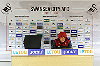Tony Thrussell during the Swansea City Training at the Liberty Stadium, Swansea, Wales, UK. Thursday 01 March 2018