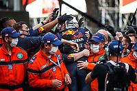 23rd May 2021; Principality of Monaco; F1 Grand Prix of Monaco,   Race Day;   33 Max Verstappen NED, Red Bull Racing, F1 Grand Prix of Monaco at Circuit de Monaco
