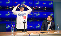 Los Angeles Dodgers Pitcher Kenta Maeda Press Conference