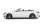 Car Driver side profile view of a 2017 Mercedes Benz S-Class S550 2 Door Convertible Side View