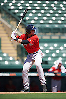 Boston Red Sox Trent Kemp (43) during an Instructional League game against the Baltimore Orioles on September 22, 2016 at the Ed Smith Stadium in Sarasota, Florida.  (Mike Janes/Four Seam Images)