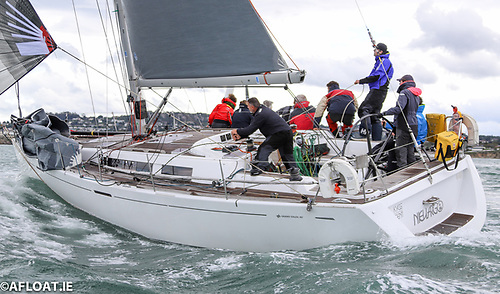 In the Sovereign's Cup offshore line-up is Denis and Annamarie Murphy's Champion Grand Soleil Nieulargo from the Royal Cork Yacht Club