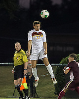 The Winthrop University Eagles played the College of Charleston Cougars at Eagles Field in Rock Hill, SC.  College of Charleston broke the 1-1 tie with a goal in the 88th minute to win 2-1.  Pietro Bottari (21)