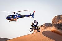 4th January 2021; Dakar Rally stage 2;  #06 Caimi Franco (arg), Yamaha, Monster Energy Yamaha Rally Team, Moto, Bike, action during the 2nd stage of the Dakar 2021 between Bisha and Wadi Al Dawasir, in Saudi Arabia on January 4, 2021