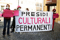 Demonstration of the women in Piazza Montecitorio on the International Day for the Elimination of Violence against Women.<br /> Rome (Italy), November 25th 2020<br /> Photo Samantha Zucchi Insidefoto