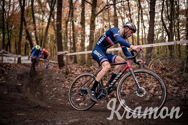 Steve Chainel (FRA)<br /> <br /> UEC Cyclocross European Championships 2020 - 's-Hertogenbosch (NED)<br /> <br /> Elite MEN<br /> <br /> ©kramon
