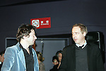 March 18, 2010 - Tokyo, Japan - Actor Mathieu Amalric (L) and Director Arnaud Desplechin (R) attend the French Film Festival 2010 Opening Ceremony at Roppongi Hills on March 18, 2010 in Tokyo, Japan. (Laurent Benchana/Nippon News)