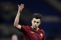 Calcio, ottavi di finale di Tim Cup: Roma vs Sampdoria. Roma, stadio Olimpico, 19 gennaio 2017.<br /> Roma's Stephan El Shaarawy celebrates after scoring during the Italian Cup round of 16 football match between Roma and Sampdoria at Rome's Olympic stadium, 19 January 2017.<br /> UPDATE IMAGES PRESS/Isabella Bonotto