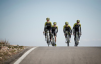 training in Andalusia<br /> <br /> Mitchelton-Scott training camp <br /> Almeria, Spain<br /> february 2019<br /> <br /> ©kramon