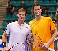 15-12-10, Tennis, Rotterdam, Reaal Tennis Masters 2010,   Jasper Smit  Antal van der Duim